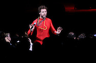 Comedian Will Ferrell performs during the Rainforest Foundation's benefit concert at Carnegie Hall in New York May 19, 2006. Photo by Keith Bedford