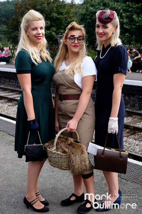 Weybourne, Norfolk. 1940's weekend at the North Norfolk Railway.<br /> <br /> Picture: MARK BULLIMORE