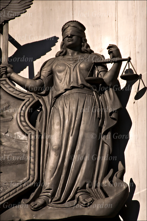 justice should be blind Justice should be color-blind, but we all know that it still is not there are many perhaps thousands if not millions, historically, cases disputing the blindness of justice but when i think.