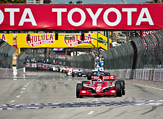 Dario Franchitti Wins 35th Toyota Grand Prix of Long Beach 2009