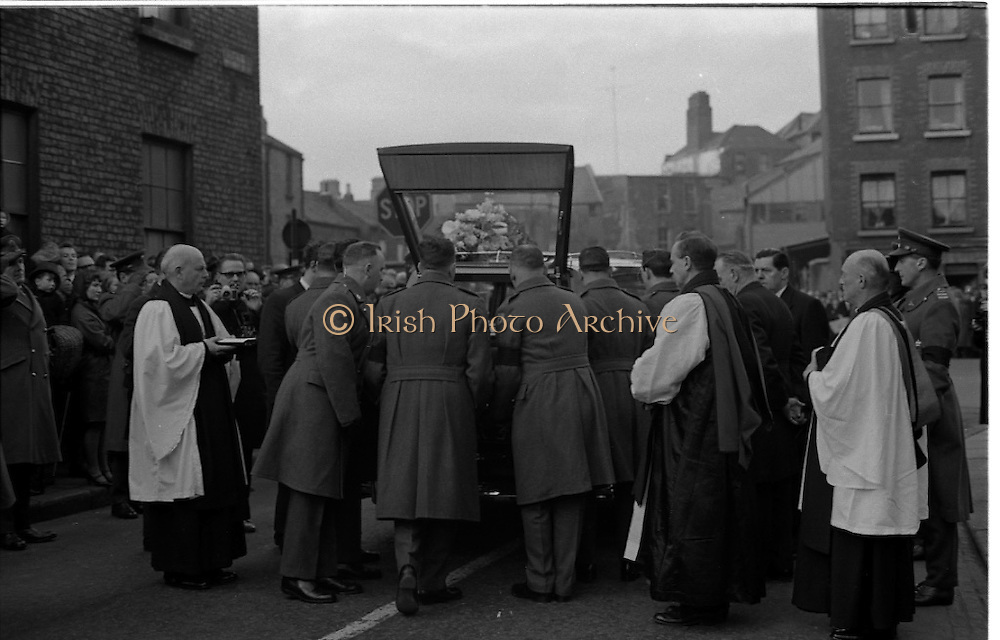 The State Funeral of Sir Alfred Chester Beatty.<br /> 29.01.1968
