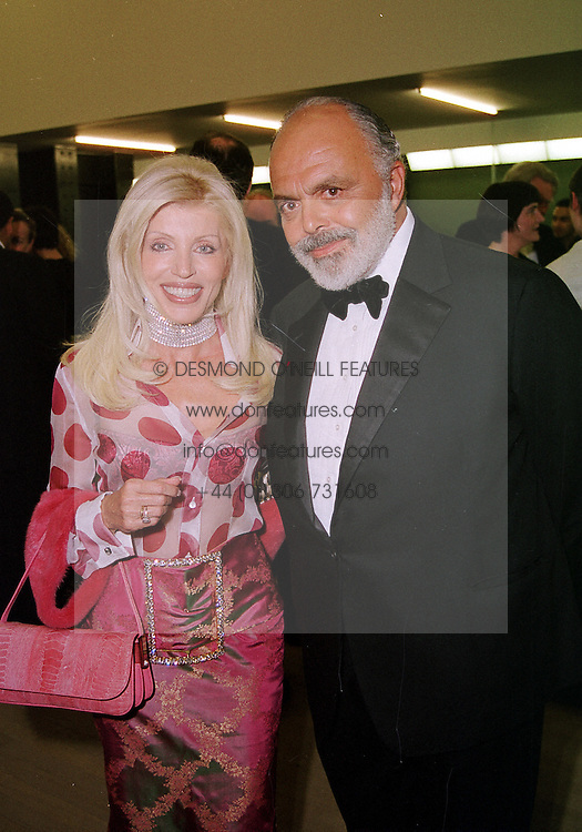MR &amp; MRS GILBERT LLOYD, he is the art dealer, at <br /> a dinner in London on 3rd May 2000.ODH 141<br /> &copy; Desmond O&rsquo;Neill Features:- 020 8971 9600<br />    10 Victoria Mews, London.  SW18 3PY <br /> www.donfeatures.com   photos@donfeatures.com<br /> MINIMUM REPRODUCTION FEE AS AGREED.<br /> PHOTOGRAPH BY DESMOND O'NEILL