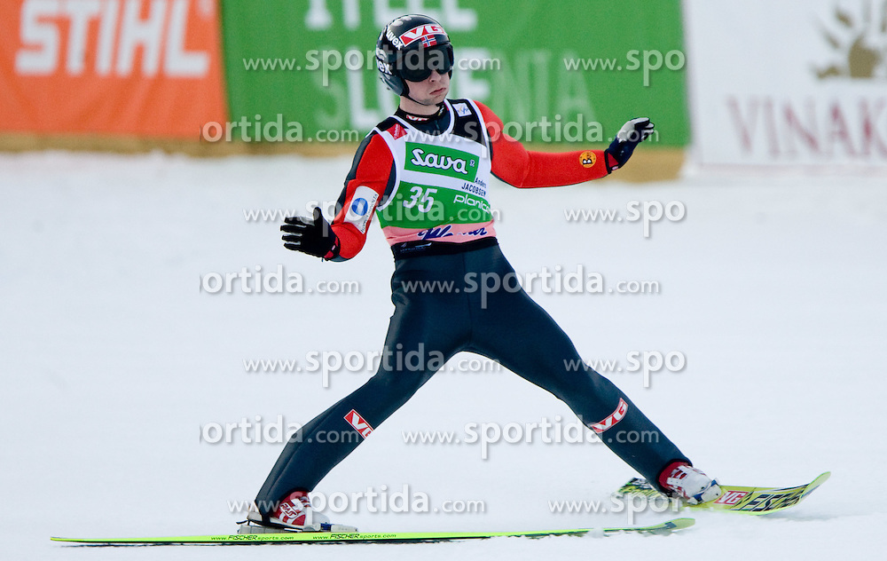 JACOBSEN Anders, Ringkollen Skiklubb, NOR  competes during Flying Hill Individual Second Round at 2nd day of FIS Ski Flying World Championships Planica 2010, on March 19, 2010, Planica, Slovenia.  (Photo by Vid Ponikvar / Sportida)
