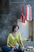 China / Shanghai<br /> <br /> Bonita Lim <br /> <br /> &copy; Daniele Mattioli for Elle Decor China