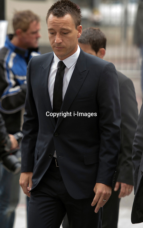 John Terry arriving at Westminster Magistrates court in London, Tuesday,10th July 2012. Photo by: i-Images