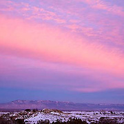sunset, Grand Junction, Colorado