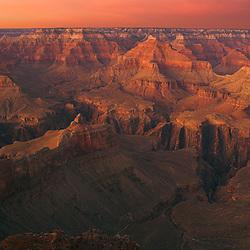Powell Point Sunset, Grand Canyon NP, Arizona