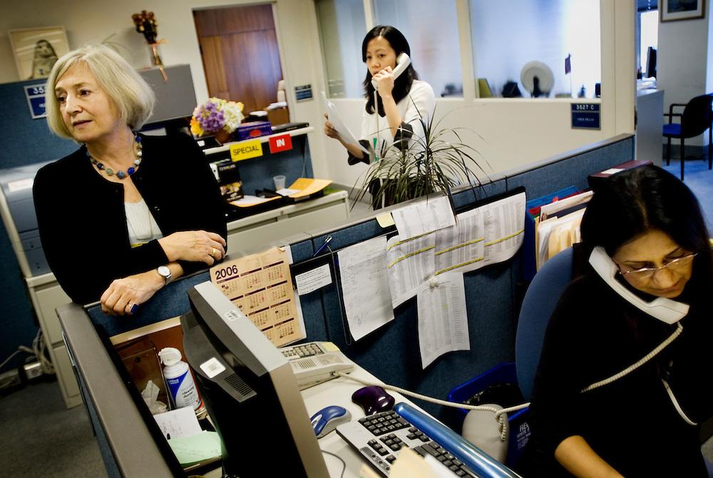 Inga-Britt Ahlenius of Sweden, Under-Secretary-General for Internal Oversight Services at the United Nations..En dag med Inga-Britt Ahlenius på FN..Photographer: Chris Maluszynski /MOMENT.