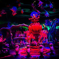 LAKE BUENA VISTA, FL -- November 17, 2012 -- An underwater dance scene is seen in the Under the Sea Journey of the Little Mermaid ride in the New Fantasyland expansion at Walt Disney World in Lake Buena Vista, Florida on Saturday, November 17, 2012.  The New Fantasyland expansion is the largest since the park's opening and features Enchanted Forest with The Little Mermaid and Beauty and the Beast themed-attractions plus Storybook Circus , which puts a Disney spin on the American circus.(PHOTO / CHIP LITHERLAND for TIME)