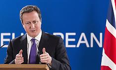 FEB 08 2013 David Cameron EU summit