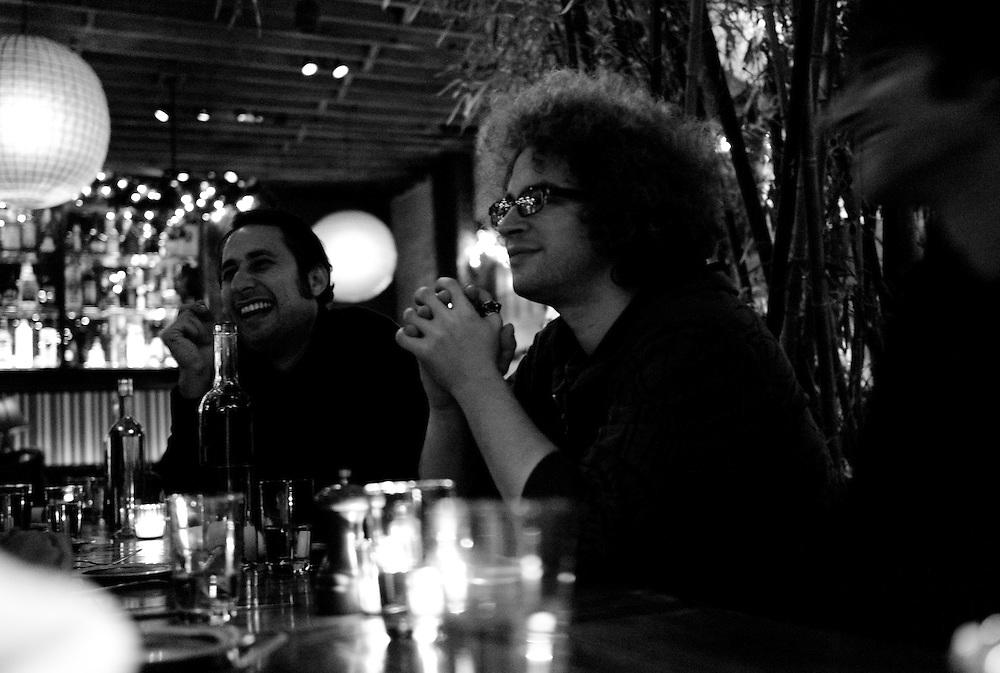 Steve, JonH, (Kalani), FK5, dinner, chill