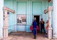 Cafe in Moron, Ciego de Avila, Cuba.