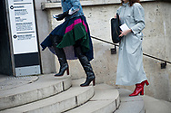 Skirt and Trench and Boots, Outside Ellery FW2017
