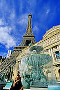 Image of Paris Las Vegas on The Strip in Las Vegas, Nevada, American Southwest