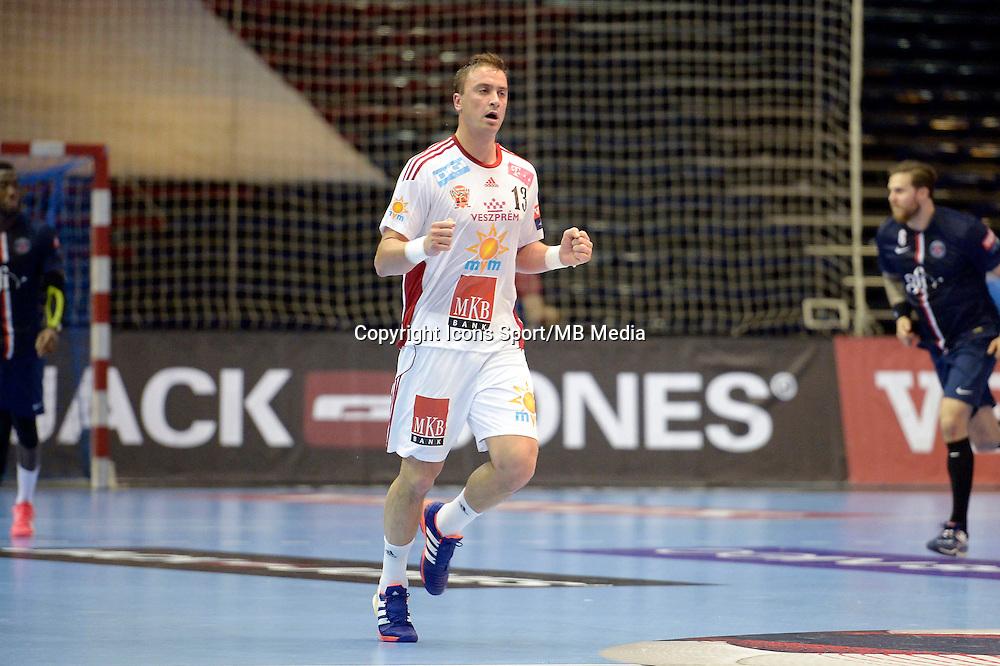 Momir Ilic - 12.04.2015 - Paris Handball / Vezprem - Champions League<br />Photo :  Andre Ferreira  / Icon Sport
