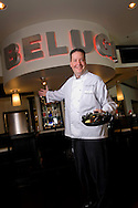 April 2, 2008; Orlando, Chef Todd Baggett of Beluga with Iron Skillet Mussels in Winter Park, Florida...© 2008 Scott A. Miller