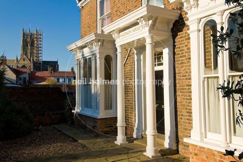Magdalen House on Magdalen Gate Hedon
