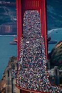 Golden Gate Bridge 50th anniversary celebration, 1987, San Francisco, California