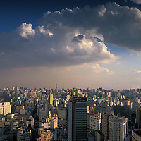 view from Torre Banespa, Centro Sao Paulo, Brazil