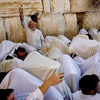 חג סוכות..בירקת הכוהנים בכותל בירושלים..26/09/10..חדשות..