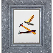 Tool At Hand paintings by Lisa Gralnick