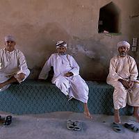 Guards, Rustaq Fort, Al Rustaq,Oman, Arabian Peninsula