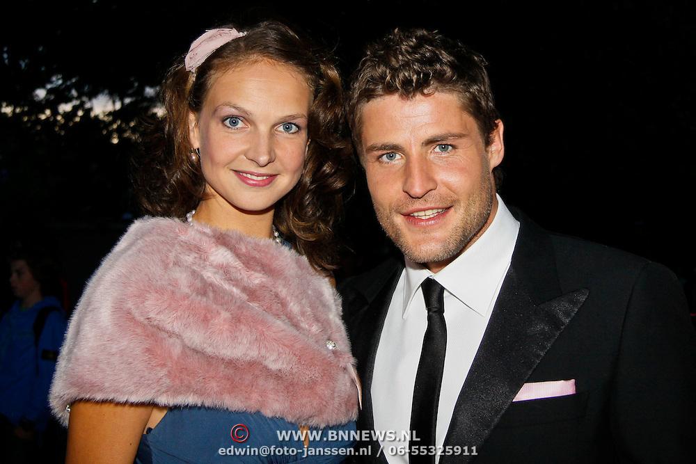 Family photo of the actor, dating Charlotte Huiskamp, famous for Goede tijden slechte tijden & Goudkust & RTL 4.