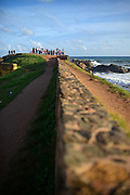 Galle Fort, UNESCO World Heritage Site in the Bay of Galle on southwest coast of Sri Lanka.
