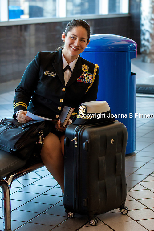 Army Captain Christine Collins for Ladies Home Journal Magazine..