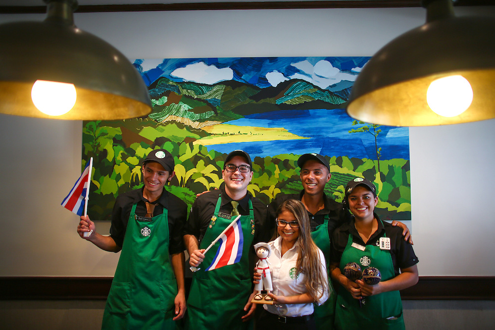 San Jose Costa Rica partner coffee tasting during the 2016 Starbucks Origin Experience for Partners. (Joshua Trujillo, Starbucks)