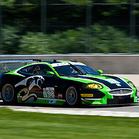 #98 JaguarRSR Jaguar XKR: PJ Jones, Rocky Moran Jr.