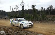 Bruce Fullerton & Hugh Reardon-Smith.Motorsport-Rally/2008 Coffs Coast Rally.Heat 2.Coffs Harbour, NSW.16th of November 2008.(C) Joel Strickland Photographics