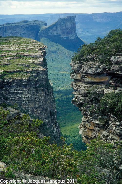 Tablelands of Chapada Diamantina, State of Bahia, Brazil, seen from Morro do Pai Inacio.
