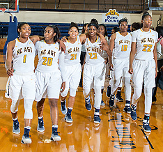2016-17 A&T Women's Basketball vs Francis Marion