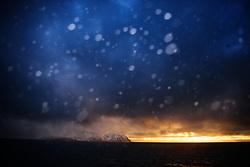 Arctic autumn light, Svalbard, Norway