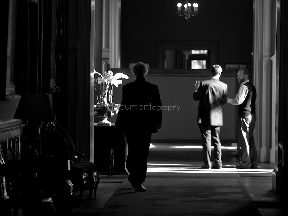 The Archbishop of Canterbury, Rowan Williams at Lambeth Palace, London..OLYMPUS DIGITAL CAMERA