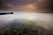 3 Edition A1 - 5 Edition A2<br /> <br /> Beaumaris in Winter, on an early morning, tranquil, quiet, beautiful, COLD!
