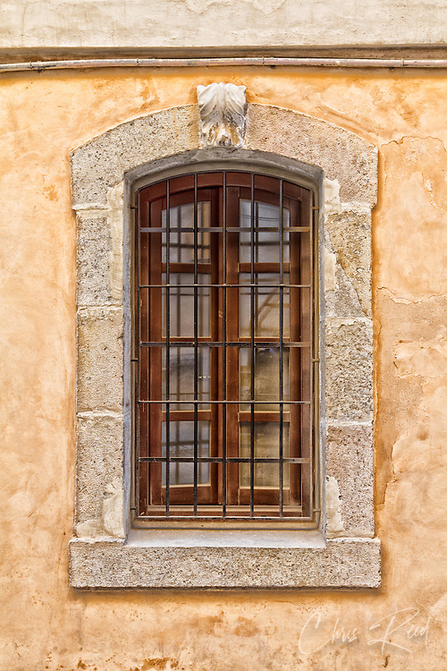 Spain, Barcelona. Window.