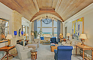 Living Room, Meadow Lane, Southampton, Long Island, New York