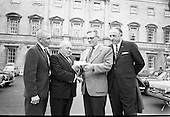 1967 - Presentation for Fr. O'Flynn Memorial Park, at Leinster House