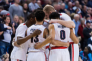 The #1 ranked Gonzaga Bulldogs beat the Santa Clara Broncos 90 - 55 on February 4th, 2017 in the McCarthey Athletic Center. (Photo by Edward Bell) Gonzaga beat Santa Clara 90 - 55 on February 4th, 2017 at the McCarthey Athletic Center to continue their undefeated streak to 24 games. (Photos by Edward Bell)
