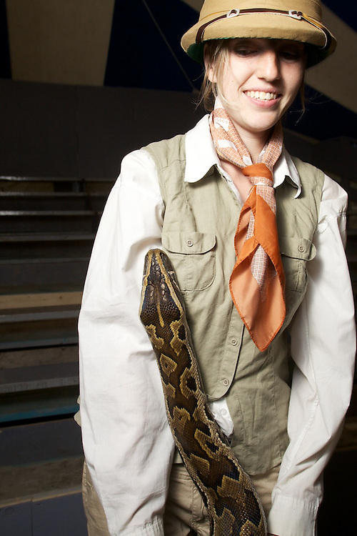 Carnivale Lune Bleue presents a reptile show in Bromont Quebec all Summer-long.