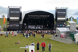 The main stage on Friday night..RockNess 2011, the annual music festival which takes place in Scotland at Clune Farm, Dores, on the banks of Loch Ness near Inverness..Pic ©2011 Michael Schofield. All Rights Reserved..