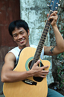 Filipinos are a musical people, who love to sing.  Entertainers from the Philippines can be found in almost any hotel lobby or club from Tokyo to Shanghai.  Not only is there a long, musical history in the Philippines but the country is renowned for its hand-made accoustic guitars, especially those made on Mactan Island near Cebu.