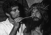 The Easter Passion Play at Negombo.
