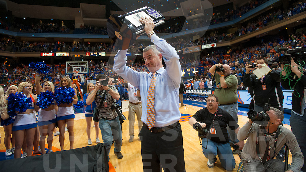 Men's Basketball vs Fresno, Mountain West Championship, Carrie Quinney photo