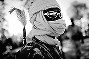 Chad/Darfur - nov2006<br /> A chadian gendarme looking out for janjaweed militias in the outskirts of Habile.Eastern Chad Nov.2006