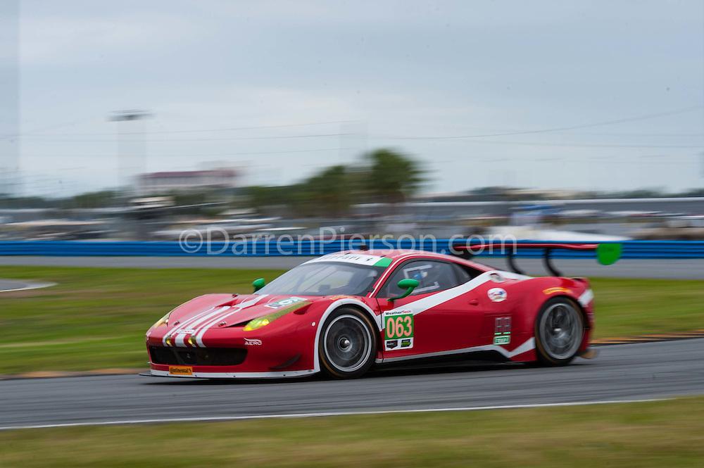 #063 Scuderia Corsa Ferrari 458 GT3: Christina Nielsen, Alessandro Balzan, Jeff Segal, Robert Renauer