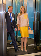 NEW YORK - King Willem Alexander and Queen Maxima arrive at the 70th Session of the UN General Assembly - the United Nations COPYRIGHT ROBIN UTRECHT