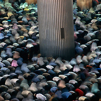 Friday Prayers in Istiqlal Mosque, the largest in this country which has the world's largest muslim population.